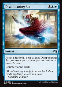 Disappearing Act - Foil