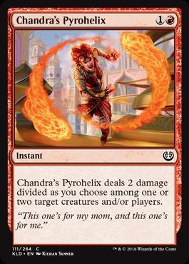 Chandras Pyrohelix - Foil