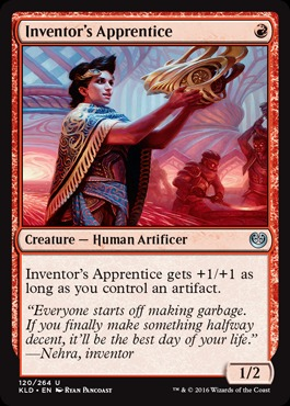 Inventors Apprentice - Foil
