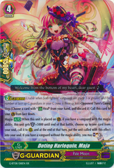 Doting Harlequin, Maja - G-BT08/018EN - RR on Channel Fireball