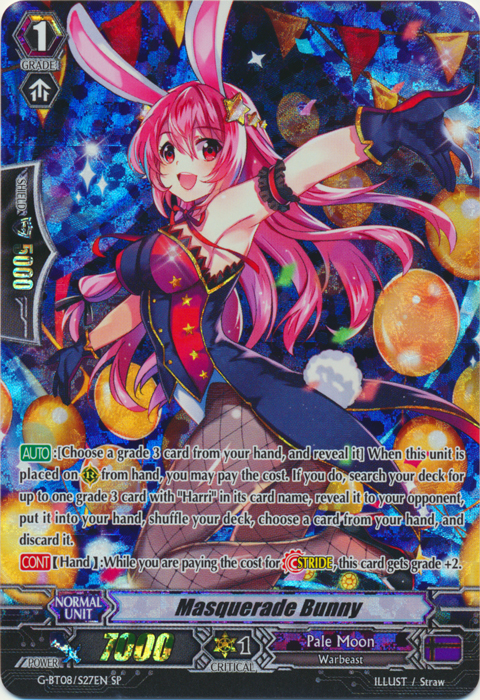 Masquerade Bunny - G-BT08/S27EN - SP