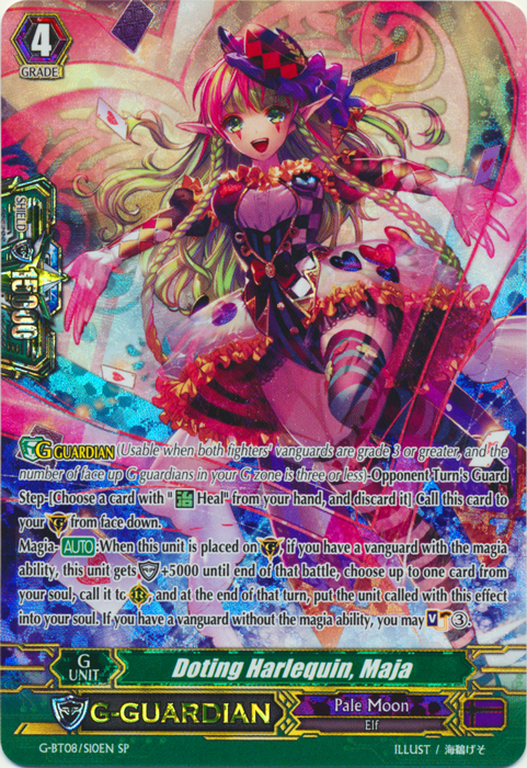 Doting Harlequin, Maja - G-BT08/S10EN - SP
