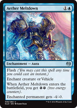 Aether Meltdown - Foil