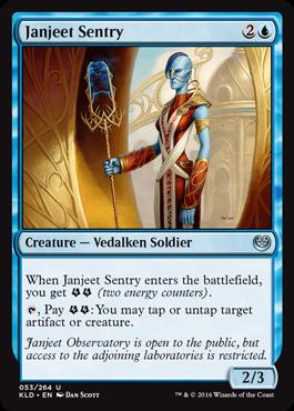 Janjeet Sentry - Foil