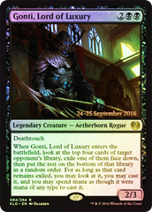 Gonti, Lord of Luxury (Kaladesh Prerelease Foil)