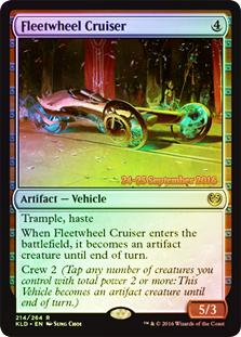 Fleetwheel Cruiser (Kaladesh Prerelease Foil)