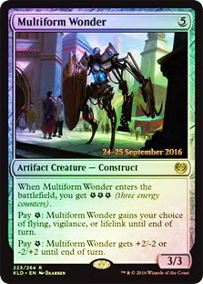 Multiform Wonder - Foil - Prerelease Promo