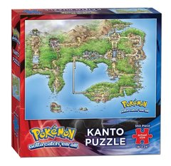 Pokemon Kanto Puzzle (550 Piece)