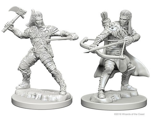 Nolzurs Marvelous Unpainted Miniatures - Human Ranger (Male)