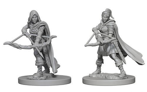 Nolzurs Marvelous Unpainted Miniatures - Human Ranger (Female)