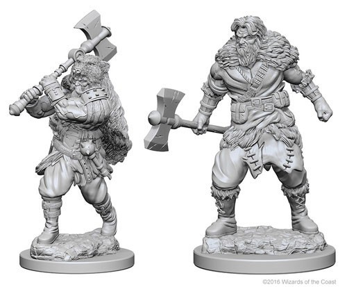 Nolzurs Marvelous Miniatures - Human Barbarian (Male) (W1)