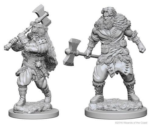 Nolzurs Marvelous Miniatures - Human Barbarian (Male)