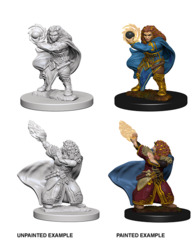 D&D Unpainted Minis - Dwarf Wizard (Female)