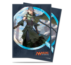 Ultra Pro - Kaladesh Nissa, Vital Force Standard Deck Protector sleeve for Magic 80ct