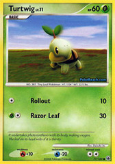 Turtwig - 77/100 - Common
