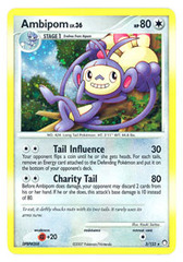 Ambipom - 3/123 - Holo Rare on Channel Fireball
