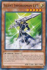 Silent Swordsman LV5 - YGLD-ENC07 - Common - Unlimited Edition