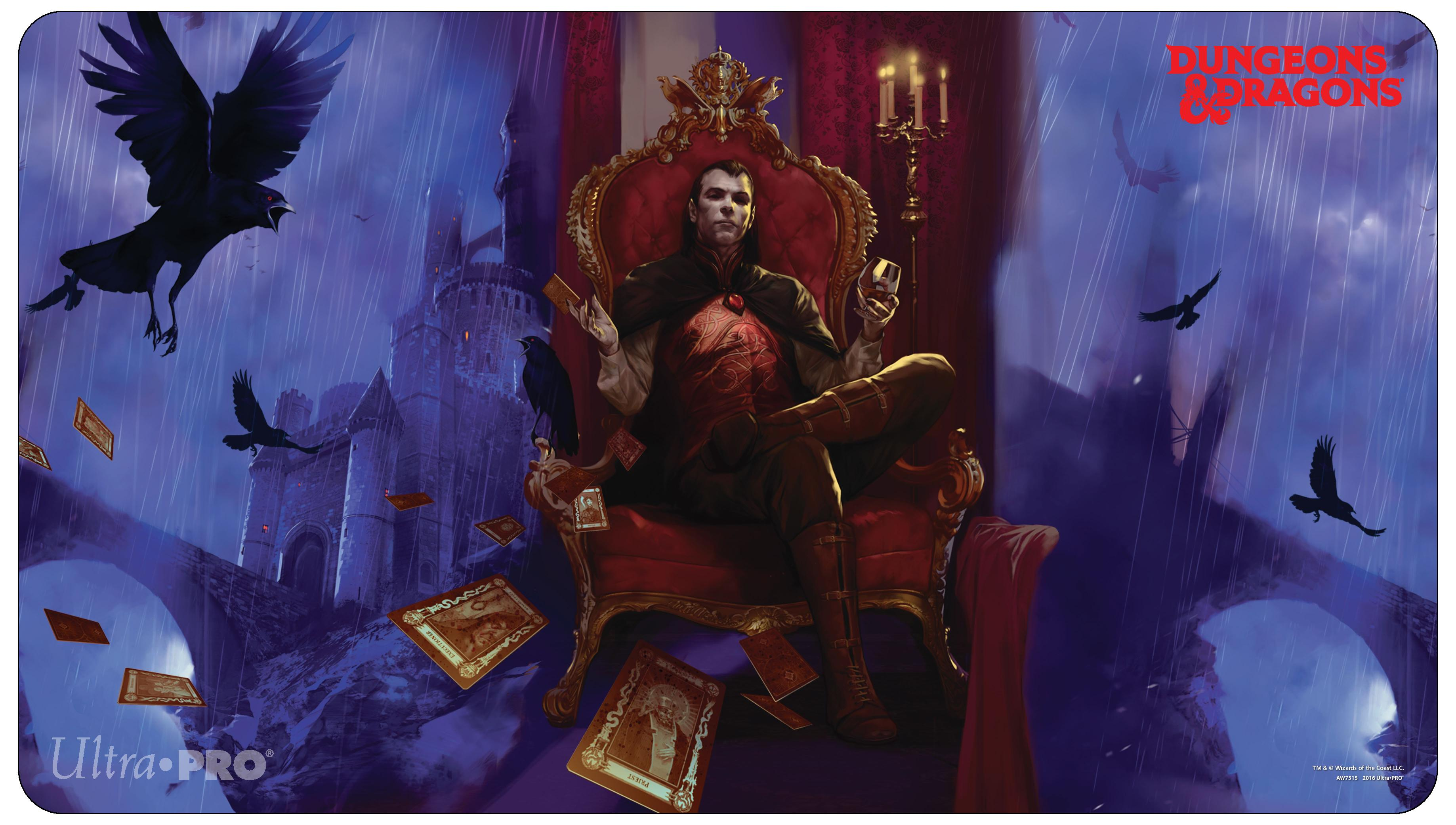 Ultra Pro - Dungeons and Dragons - Count Strahd von Zarovich Playmat