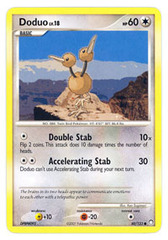 Doduo - 80/123 - Common on Channel Fireball