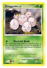 Exeggcute - 82/123 - Common on Channel Fireball