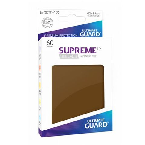 Ultimate Guard - Supreme UX Sleeves Small Size - Brown (60)