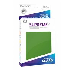 Green - Supreme UX (Ultimate Guard) - Small Sleeves - 60ct