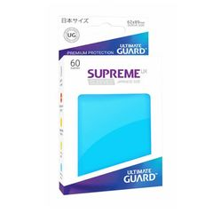 Light Blue - Supreme UX (Ultimate Guard) - Small Sleeves - 60ct