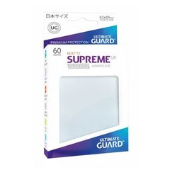 Matte - Frosted - Supreme UX (Ultimate Guard) - Small Sleeves - 60ct