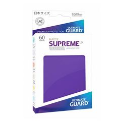 Ultimate Guard - Supreme UX Sleeves Small Size - Matte - Purple (60)