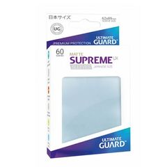Matte - Transparent - Supreme UX (Ultimate Guard) - Small Sleeves - 60ct