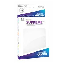 Ultimate Guard - Supreme UX Sleeves Small Size - Matte - White (60)