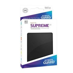 Ultimate Guard - Supreme UX Sleeves Standard Size - Matte - Black (80)