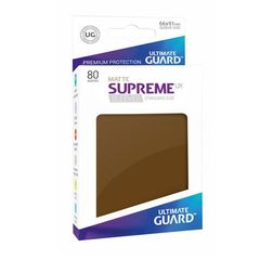 Ultimate Guard - Supreme UX Sleeves Standard Size - Matte - Brown (80)