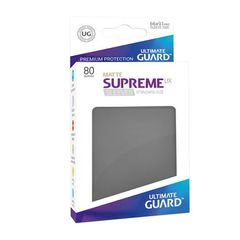Ultimate Guard - Supreme UX Sleeves Standard Size - Matte - Dark Grey (80)