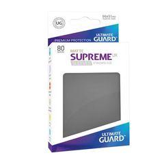 Ultimate Guard Supreme UX Matte Sleeves: Dark Grey (80ct)
