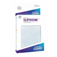 Ultimate Guard - Sleeves 80ct (Standard) - Supreme UX Matte FROSTED