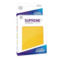 Ultimate Guard - Supreme UX Sleeves Standard Size - Yellow (80)