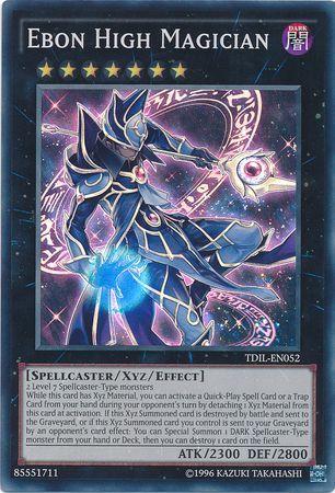 Ebon High Magician - TDIL-EN052 - Super Rare - Unlimited Edition