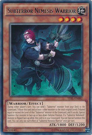 Subterror Nemesis Warrior - TDIL-EN082 - Rare - Unlimited Edition
