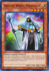 Skilled White Magician - SDMY-EN022 - Common - 1st Edition