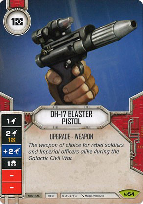 DH-17 Blaster Pistol (Sold with matching Die)