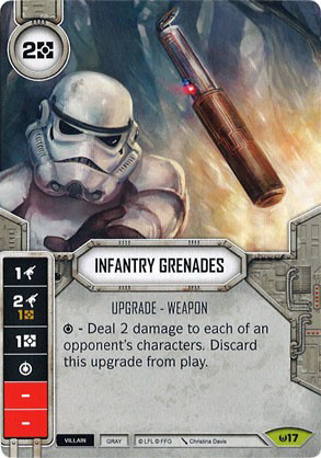 Infantry Grenades (Sold with matching Die)