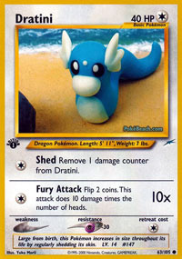 Dratini - 63/105 - Common - 1st Edition