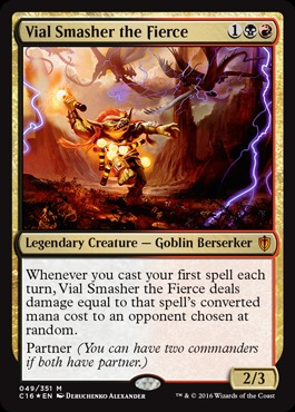 Vial Smasher the Fierce - Foil