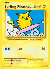 Surfing Pikachu - 111/108 - Secret Rare