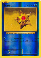 Staryu - 30/108 - Common - Reverse Holo