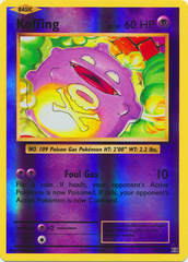 Koffing - 50/108 - Uncommon - Reverse Holo