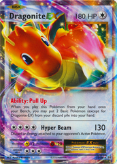 Dragonite-EX - 72/108 - Holo Rare ex