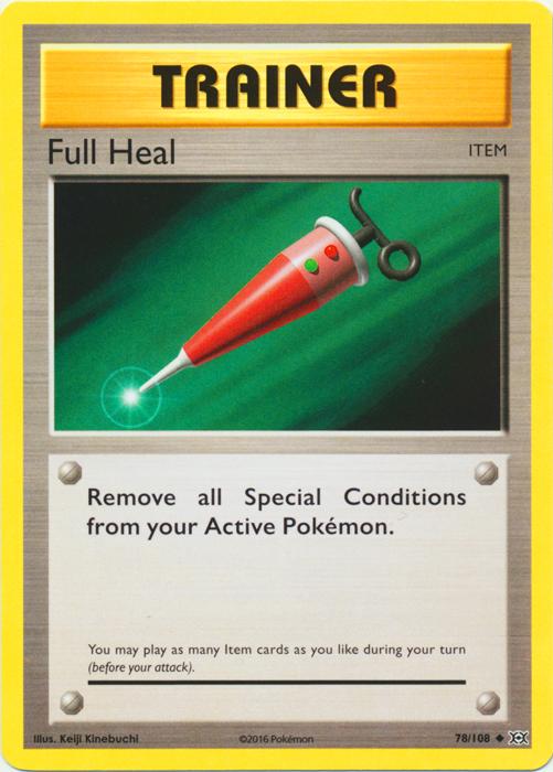 Full Heal - 78/108 - Uncommon