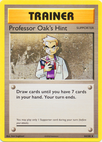 Professor Oaks Hint - 84/108 - Uncommon